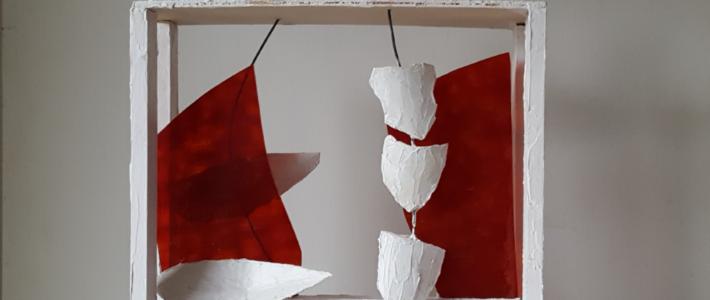 """Kunstausstellung Elisabeth Haag: """"Ansichten – Räume"""""""